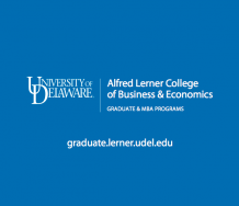 University of Delaware Alfred Lerner College of Business & Economics